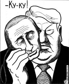 Путин наследник Ельцина